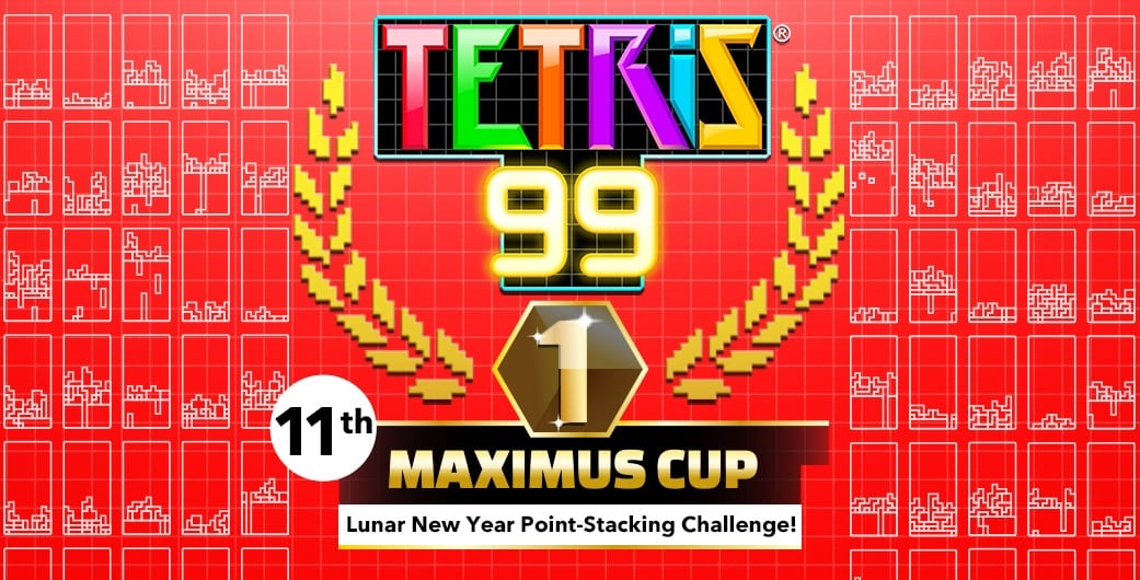 tetris 99, maximus cup, lunar new year