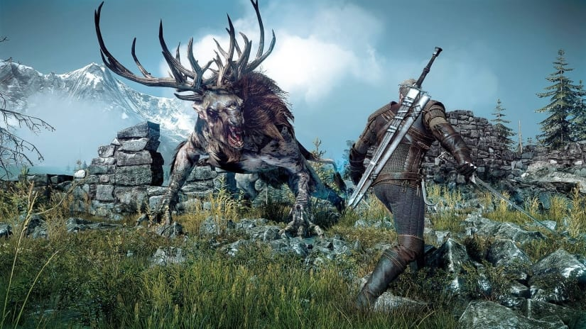 the witcher 3, sales, uk charts, netflix