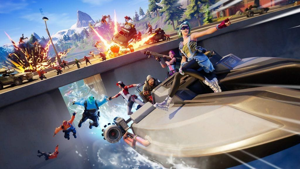 Fortnite search and destroy challenges