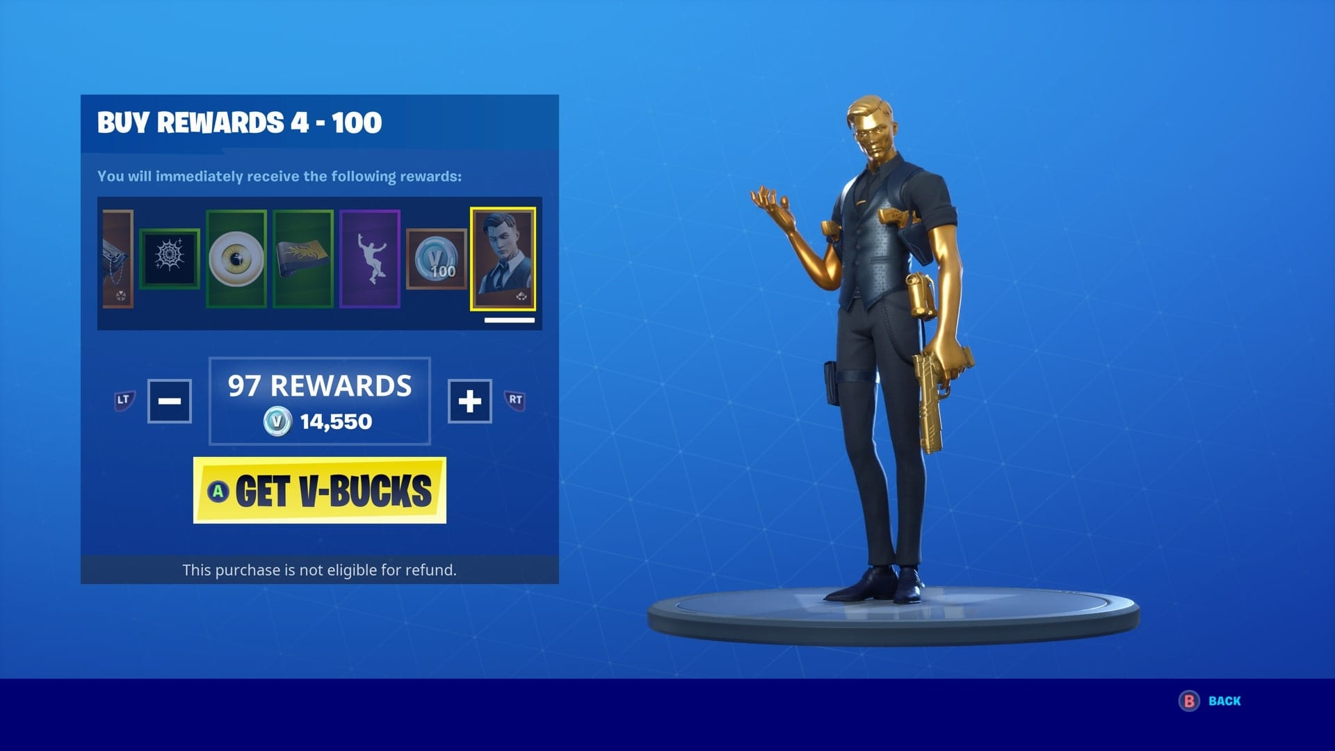 Fortnite Midas Shadow Style