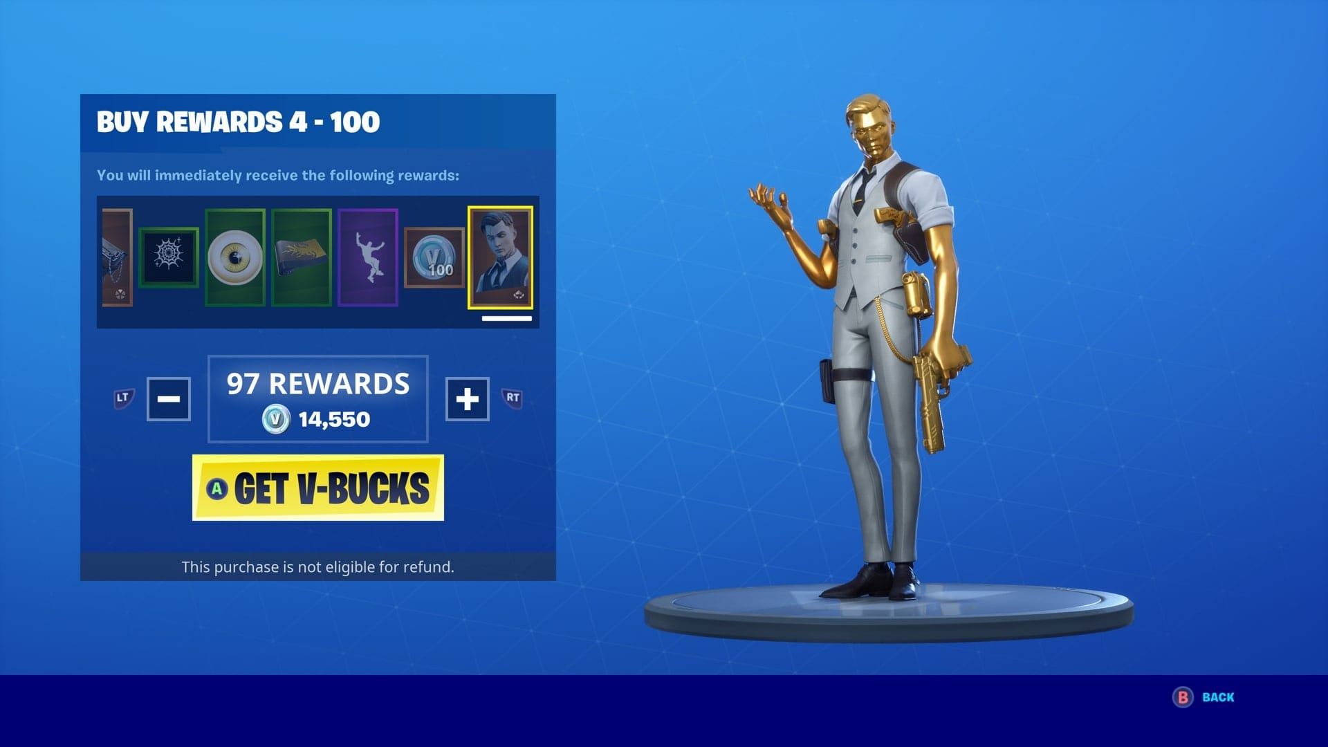 Fortnite Midas Ghost Style