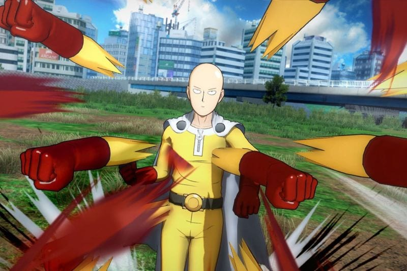 One punch man open world