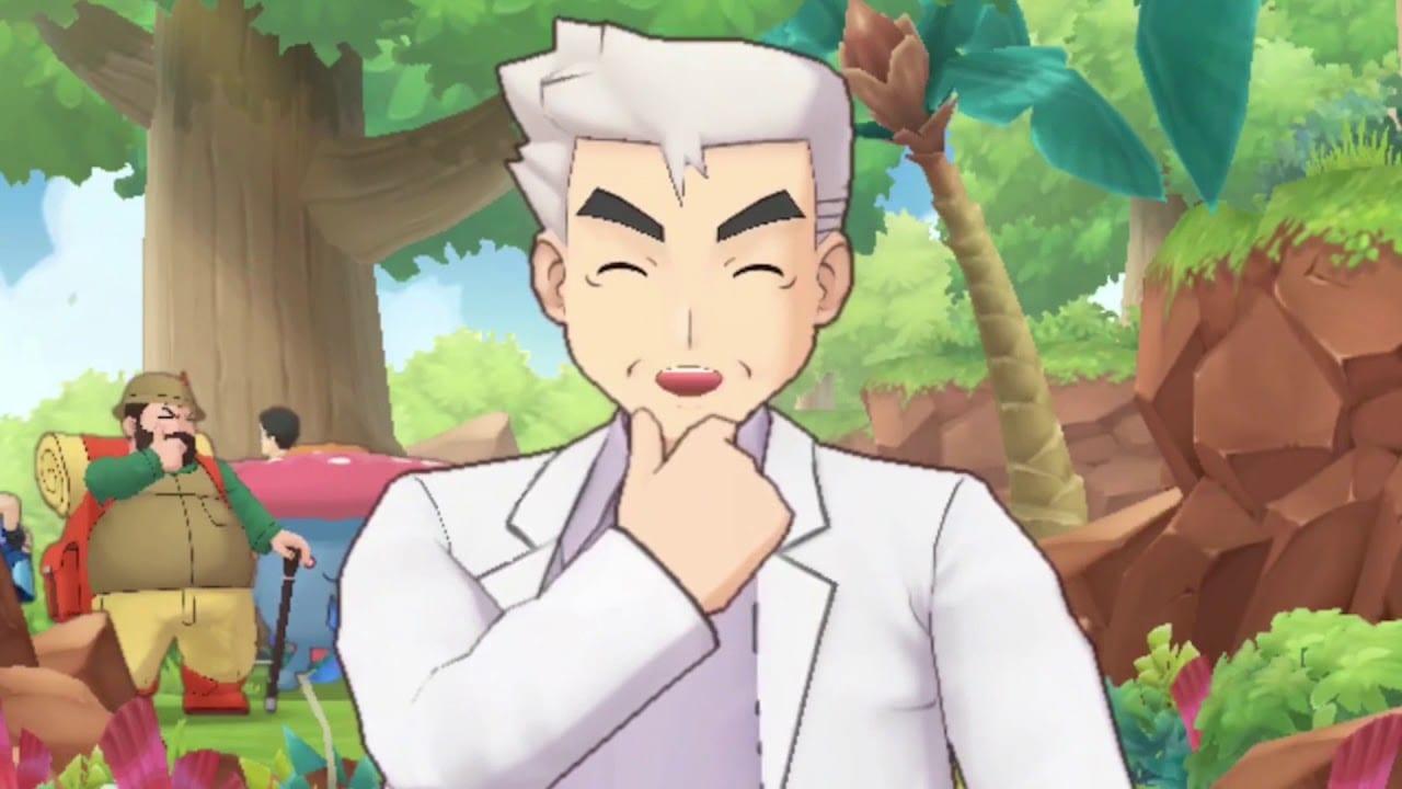 Professor Oak Pokemon Masters