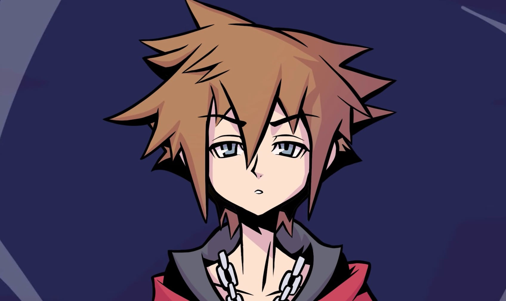 kingdom hearts 3 remind dlc, the world ends with you artstyle
