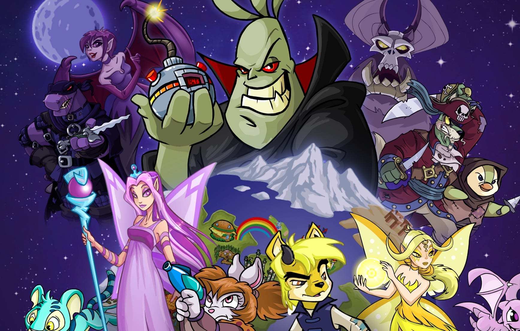 Neopets television show, animated TV series