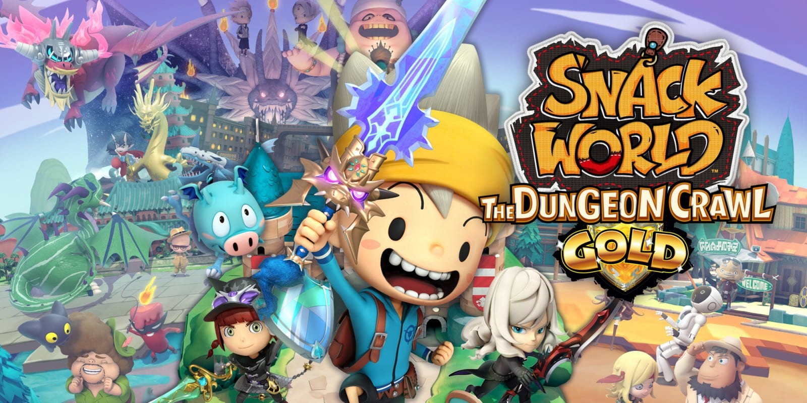 snack world the dungeon crawl, review