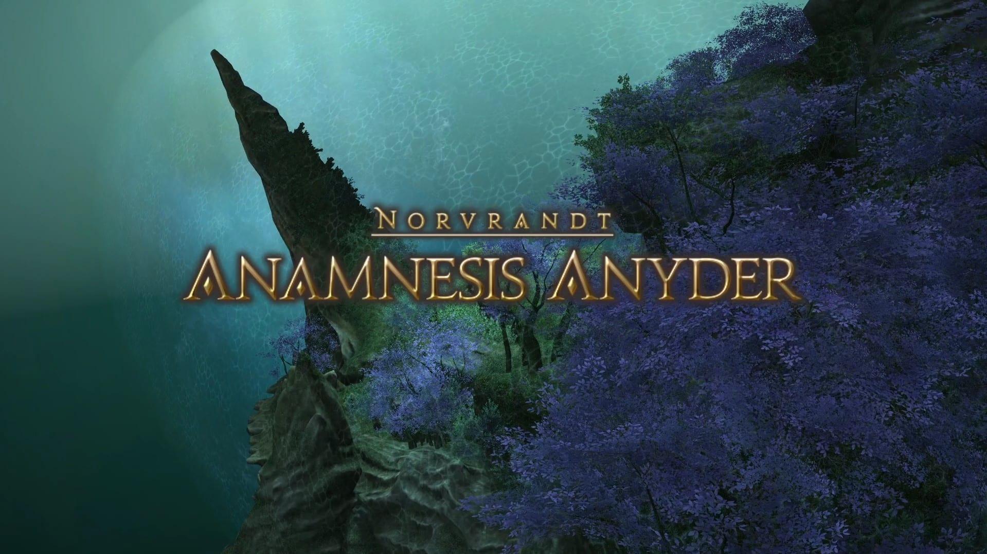 ffxiv, anamnesis anyder