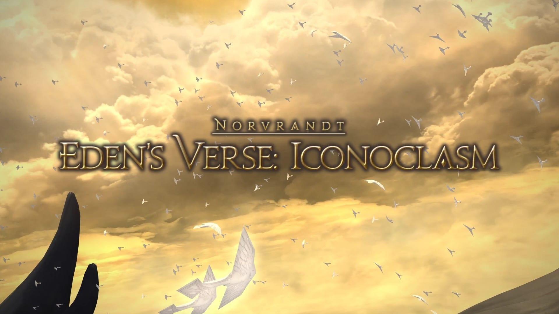 ffxiv, eden's verse iconoclasm, e7