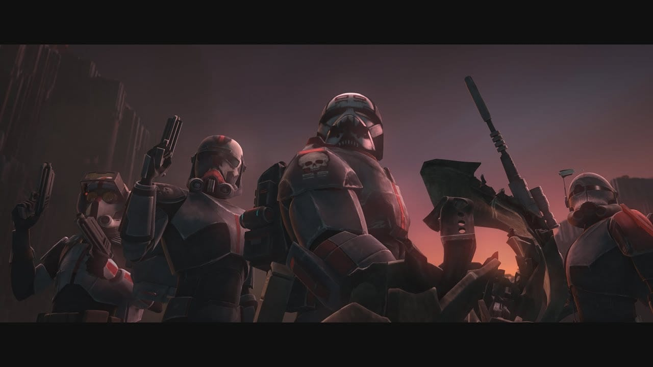 star wars, clone wars, bad batch
