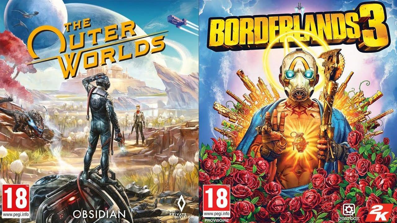 outer worlds, borderlands 3
