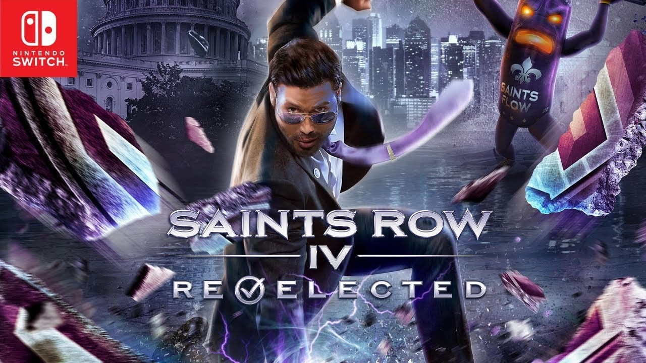 saints row, nintendo switch, re-elected