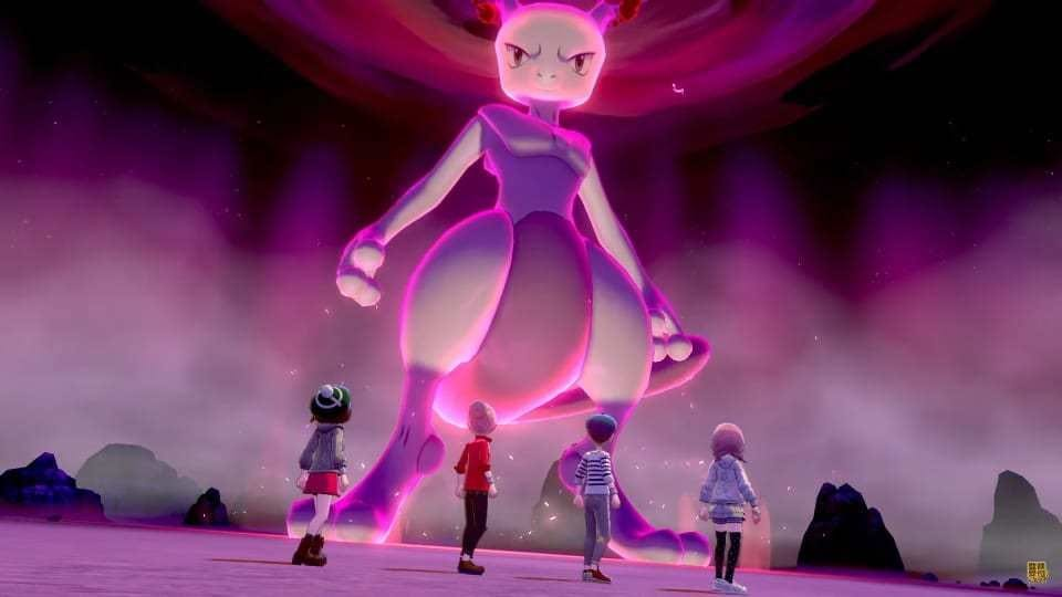 pokemon sword & shield, mewtwo