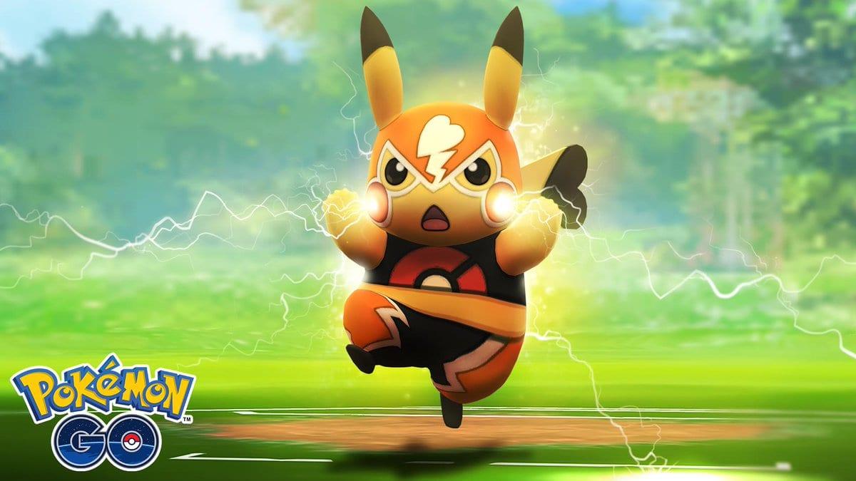 pokemon go, pikachu libre