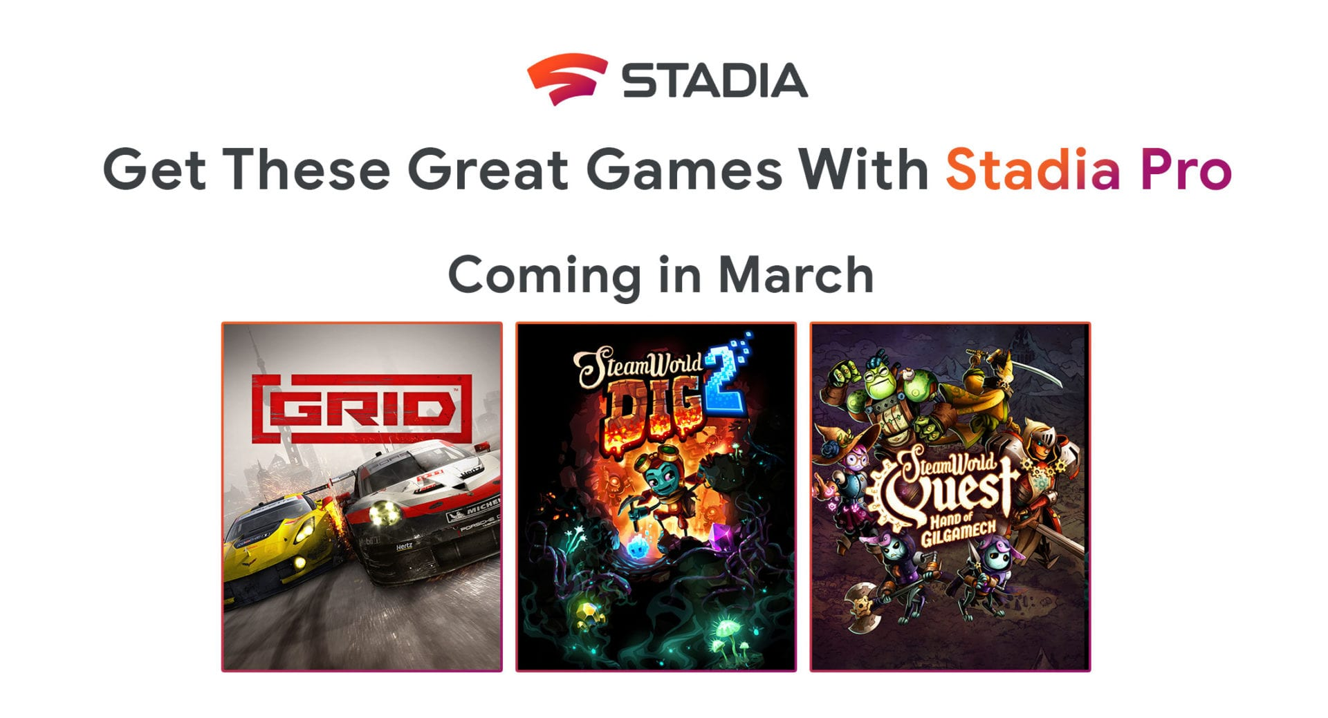 stadia, march