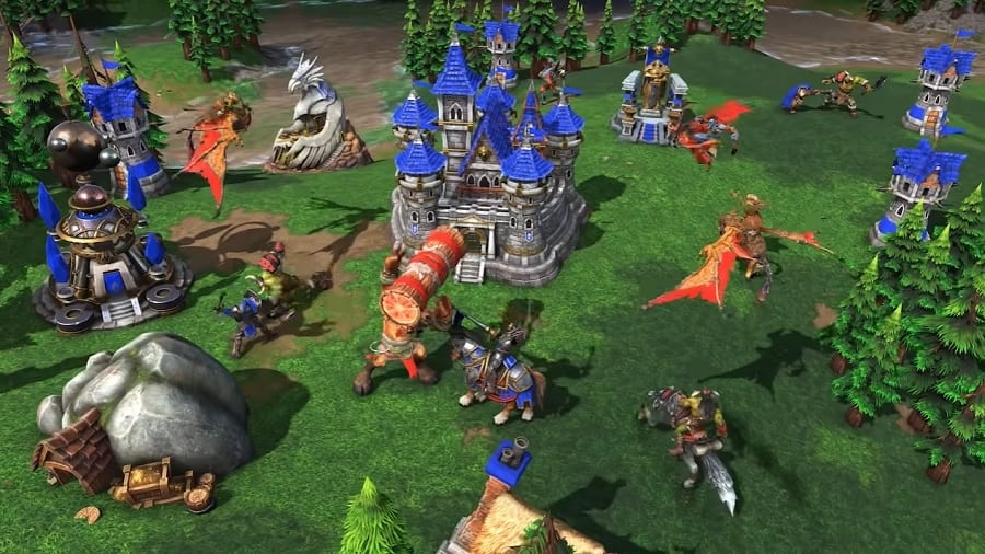 warcraft 3 reforged review, pc, blizzard