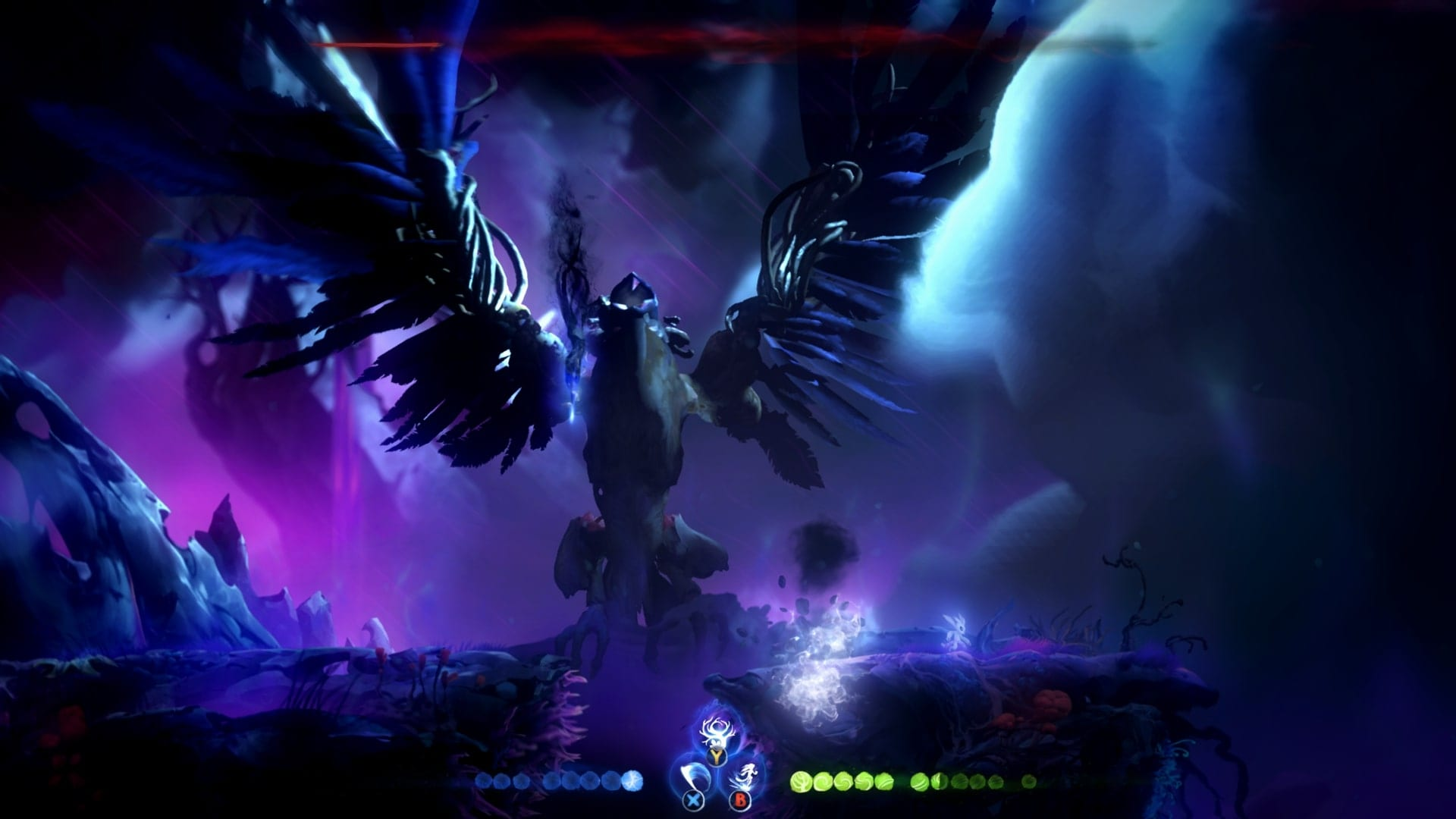 Ori And The Will Of The Wisps How To Beat Shriek Final Boss Battle