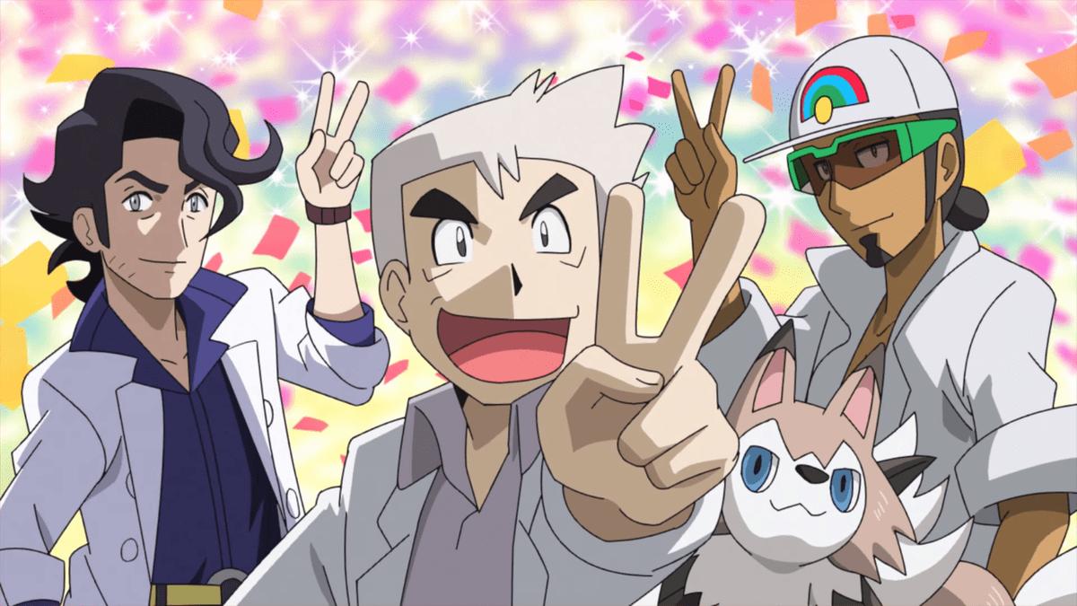 pokemon professors