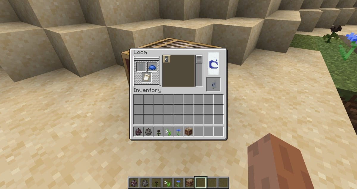 Minecraft How To Make A Loom How To Use It