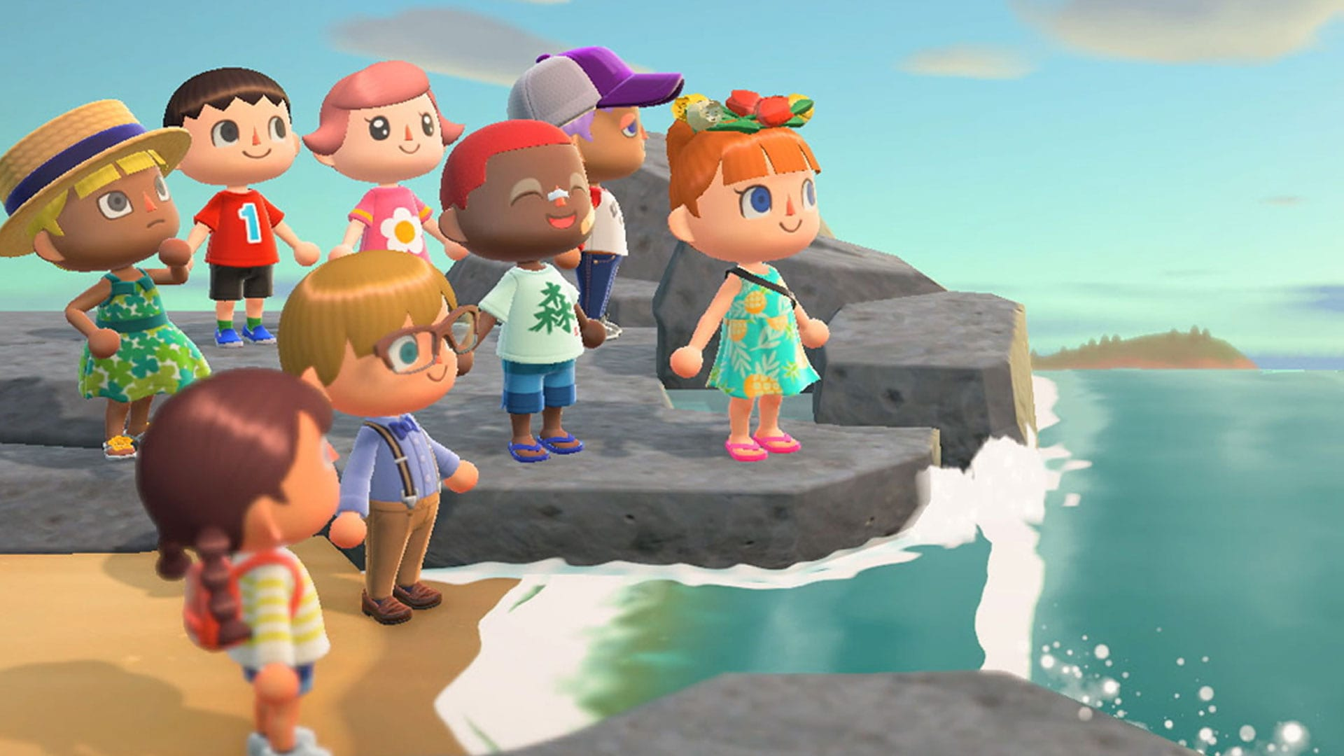 animal crossing new horizons, message in a bottle