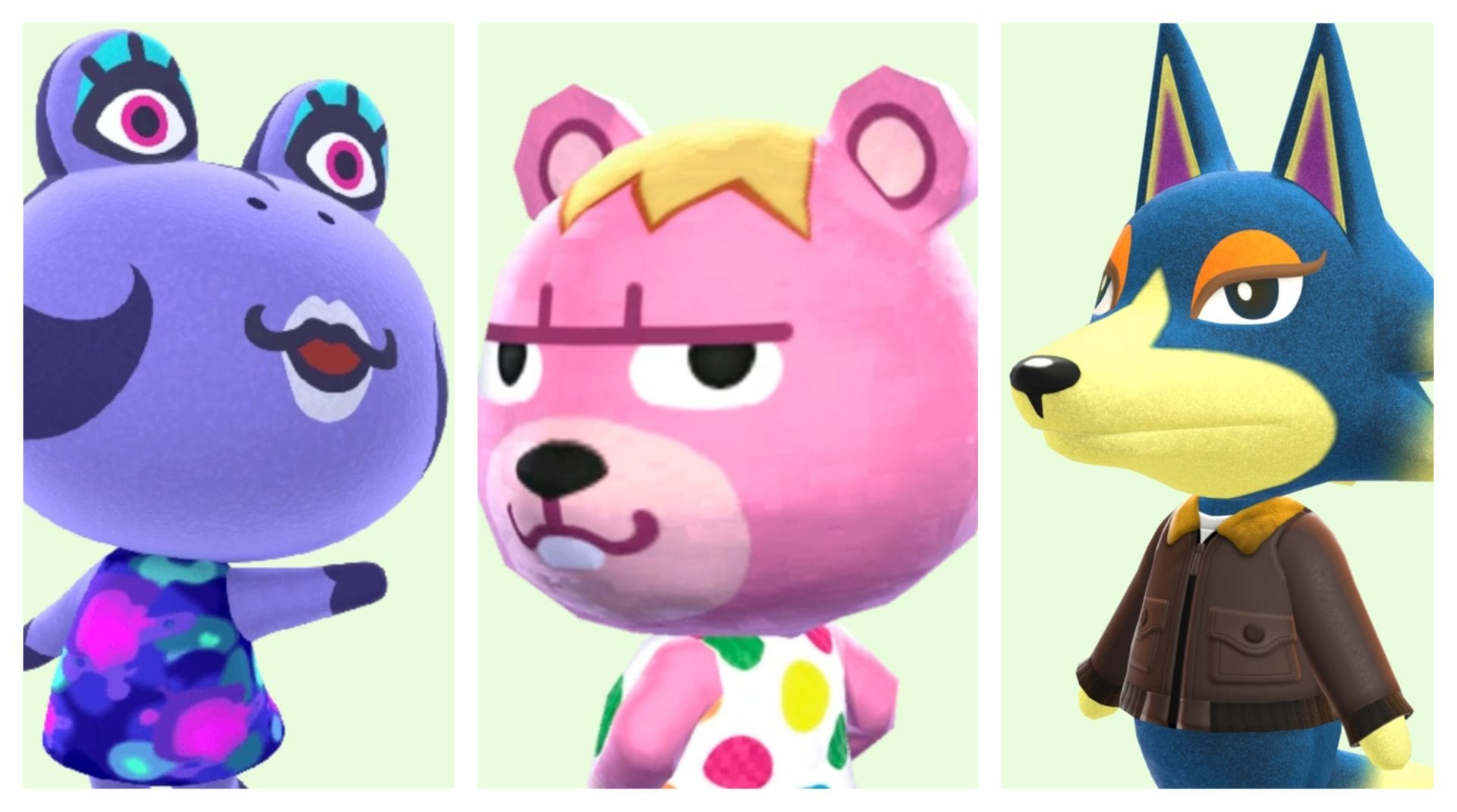Can You Remember All Of The Names Of These Animal Crossing