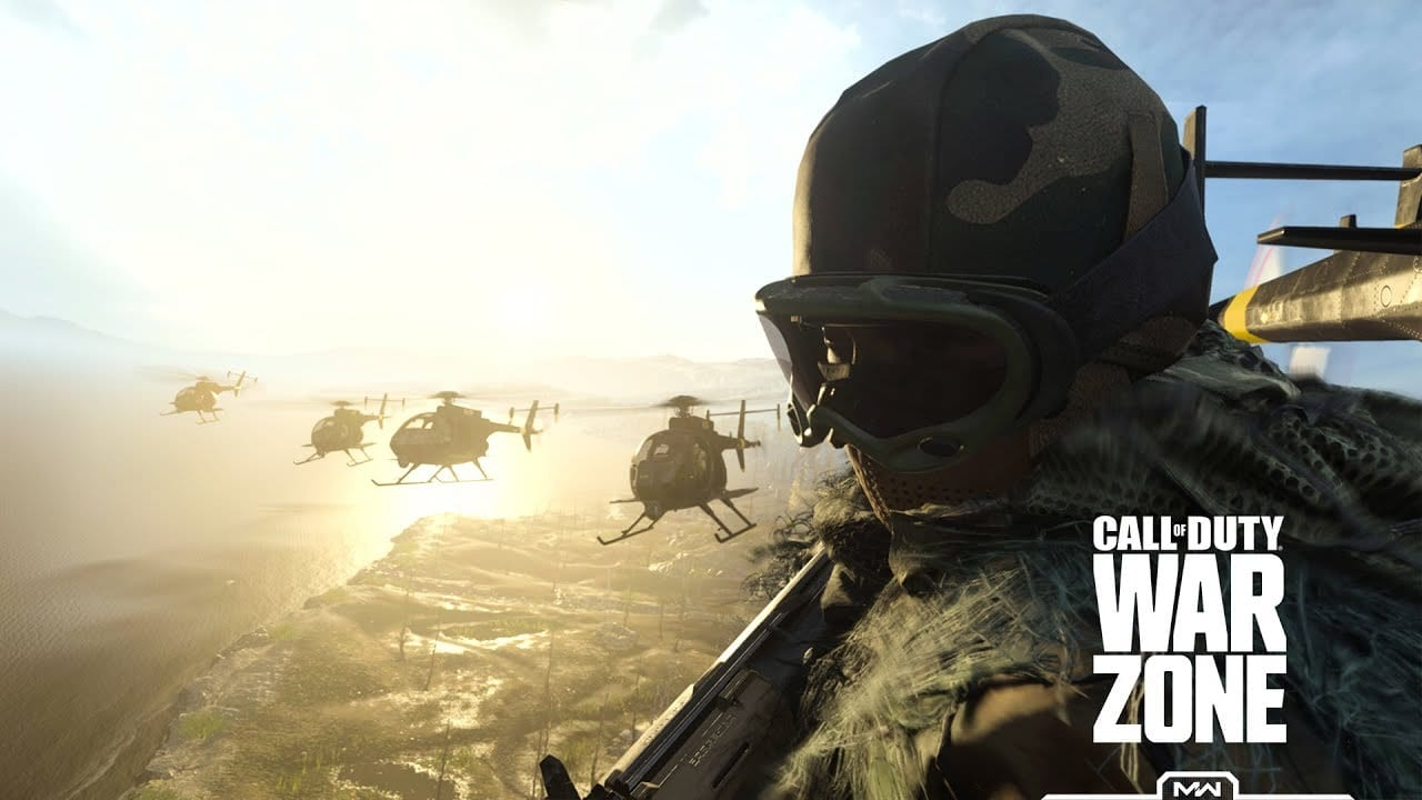Call of Duty Warzone, play with friends