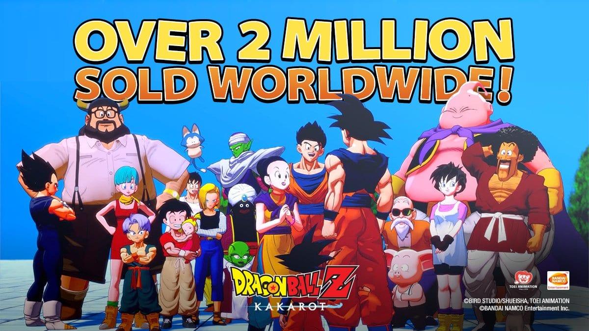 Dragon Ball Z Kakarot Sales