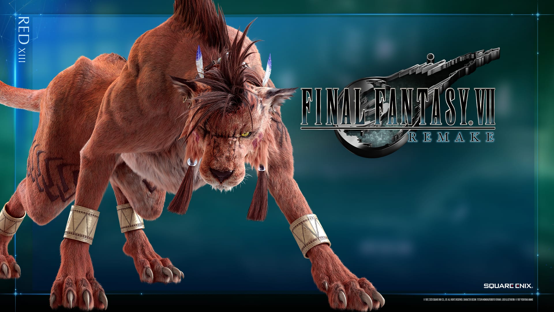 Final Fantasy Vii Remake S Red Xiii Looks Majestic In New
