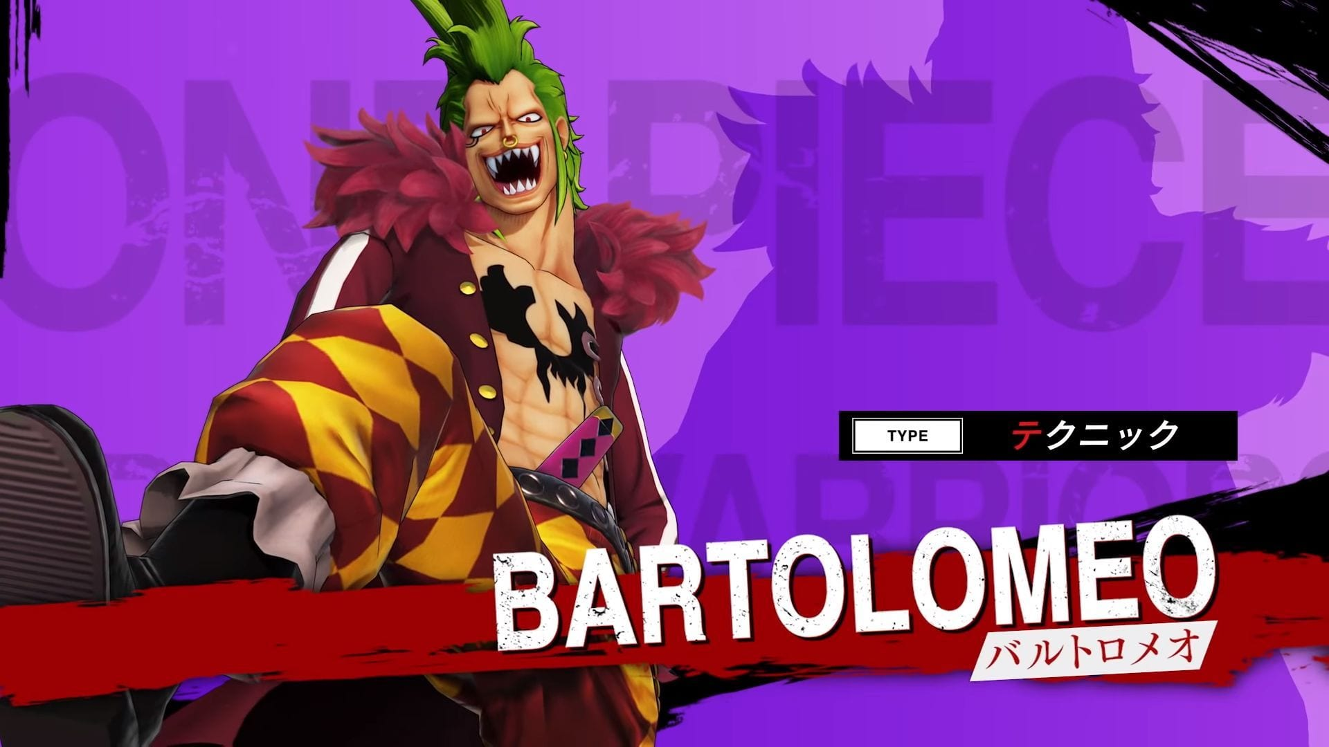 One Piece: Pirate Warriors 4 Bartolomeo