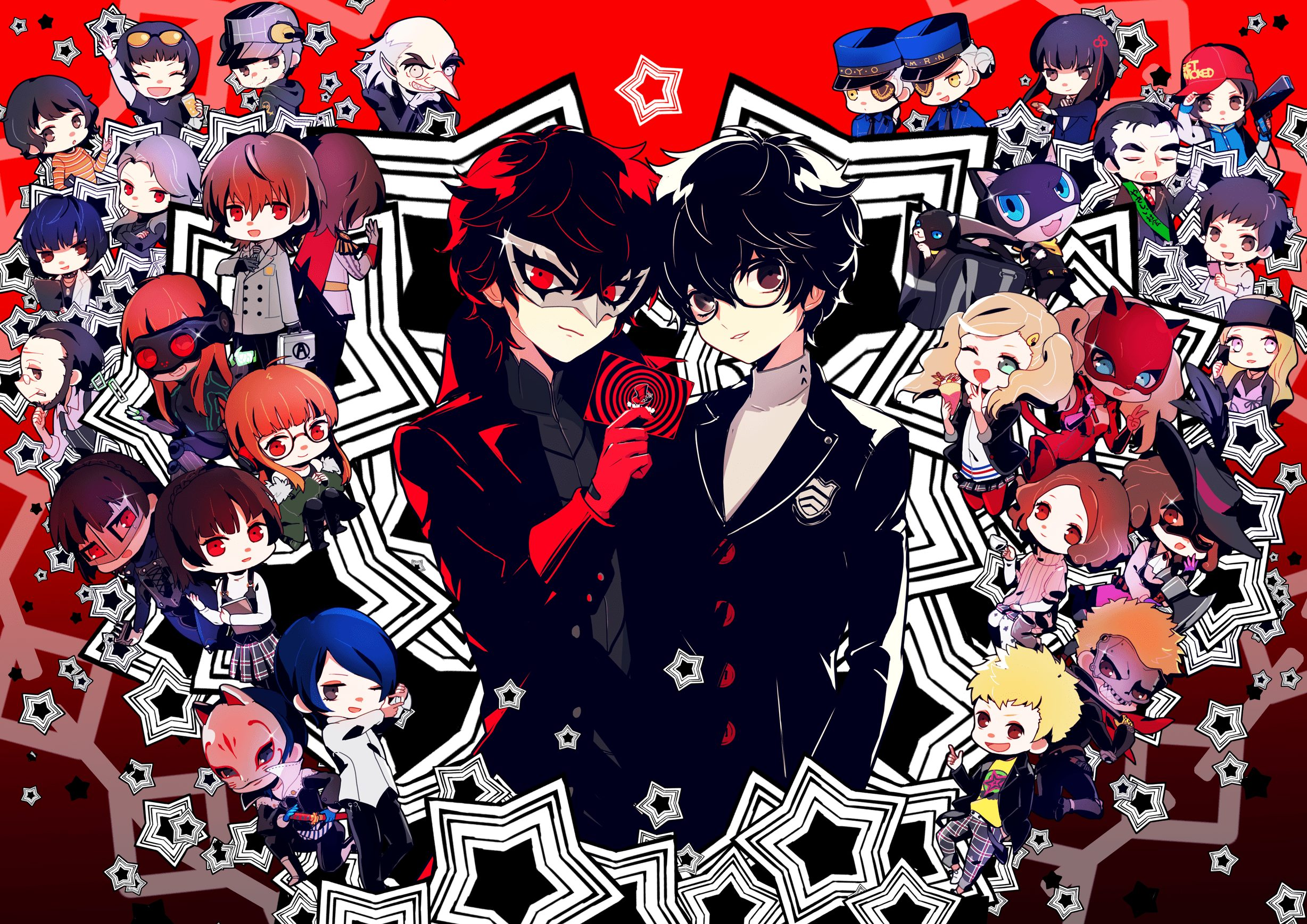 4K & HD Persona 5 Wallpapers You Need to Make Your Desktop ...