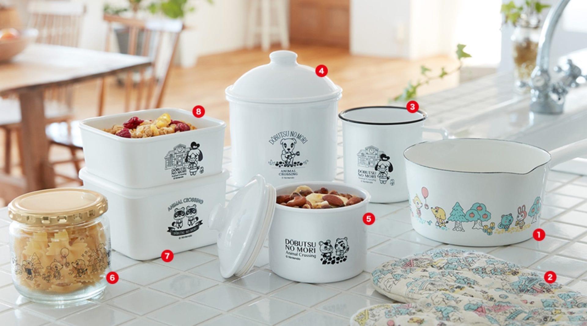 animal crossing kitchenware