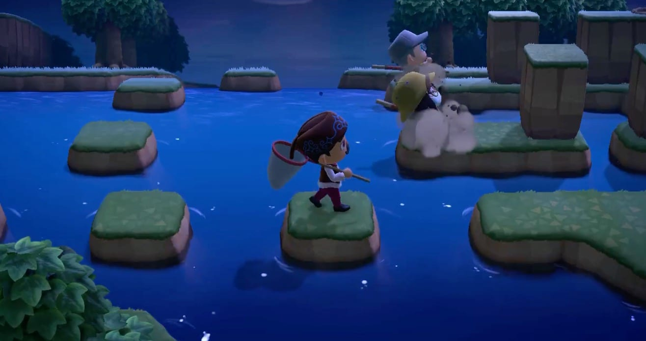 animal crossing obstacle course