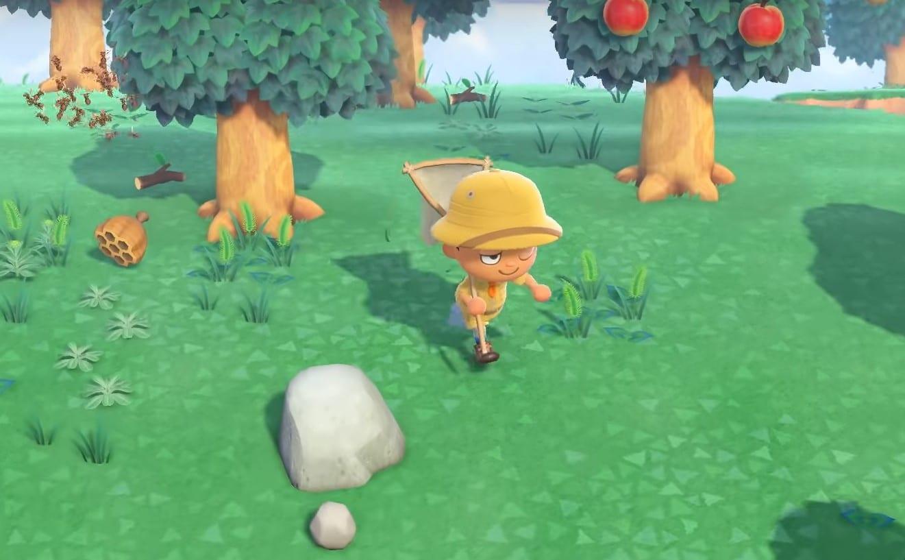 Animal Crossing new horizons, bug net, bugs, insects, how to, animal crossing, new horizons