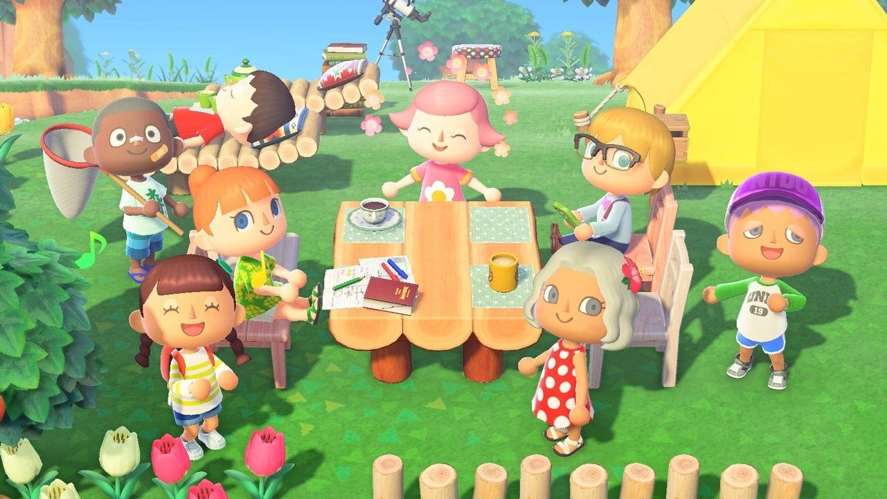 Animal Crossing New Horizons rescue services