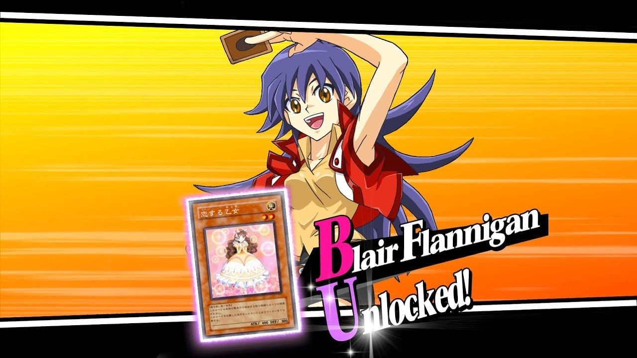 duel links, blair flannigan