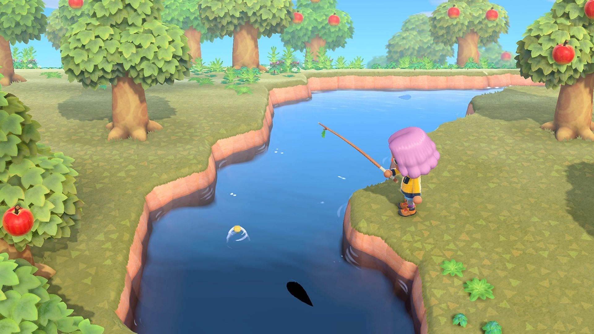 animal crossing new horizons, fishing pole, fishing rod, fishing, new horizons, animal crossing