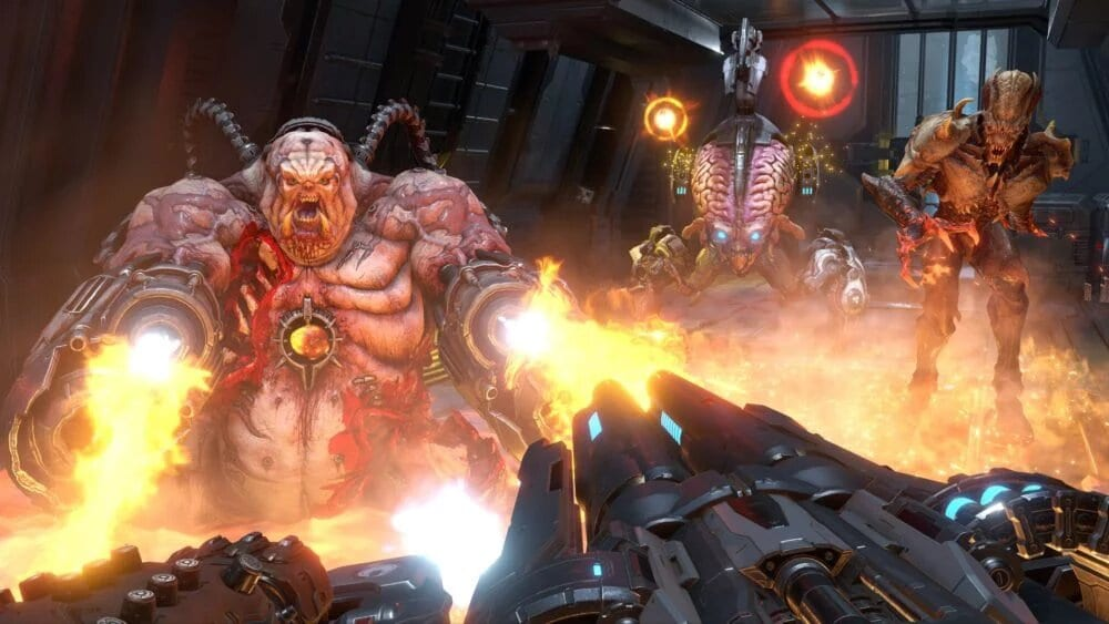 doom eternal, switch weapons