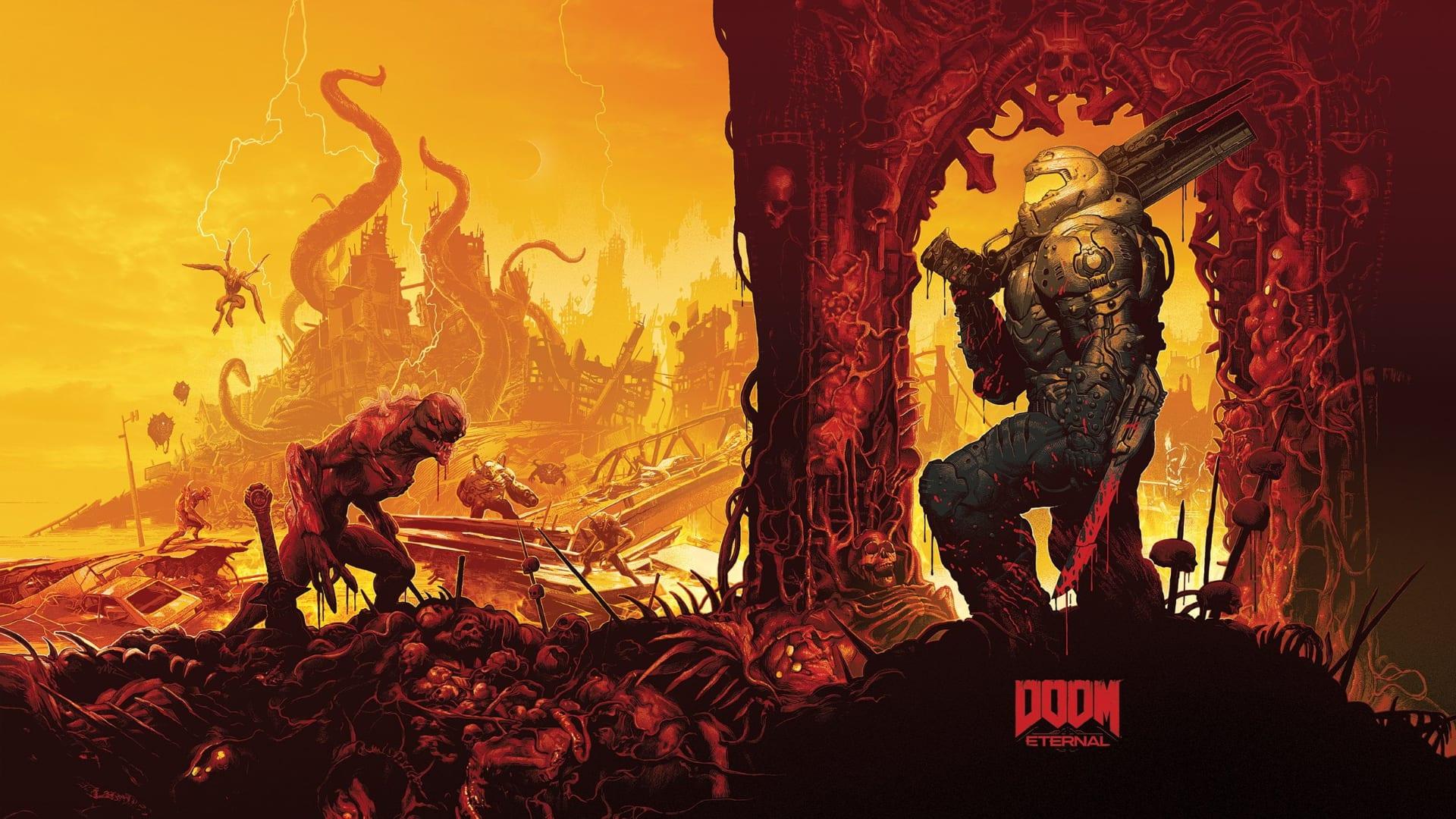 4k Hd Doom Eternal Wallpapers You Need To Make Your Desktop Background