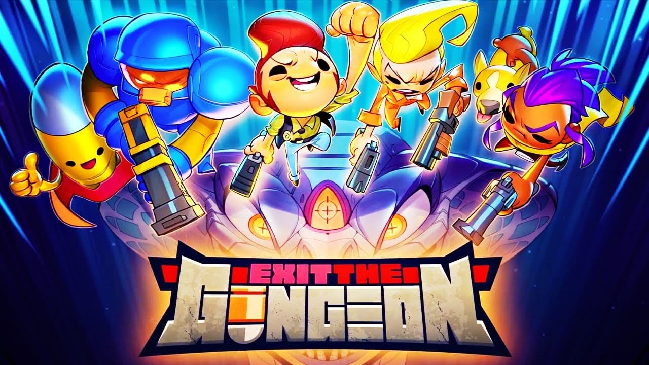 Exit the Gungeon Switch Port Revealed; Launches Today