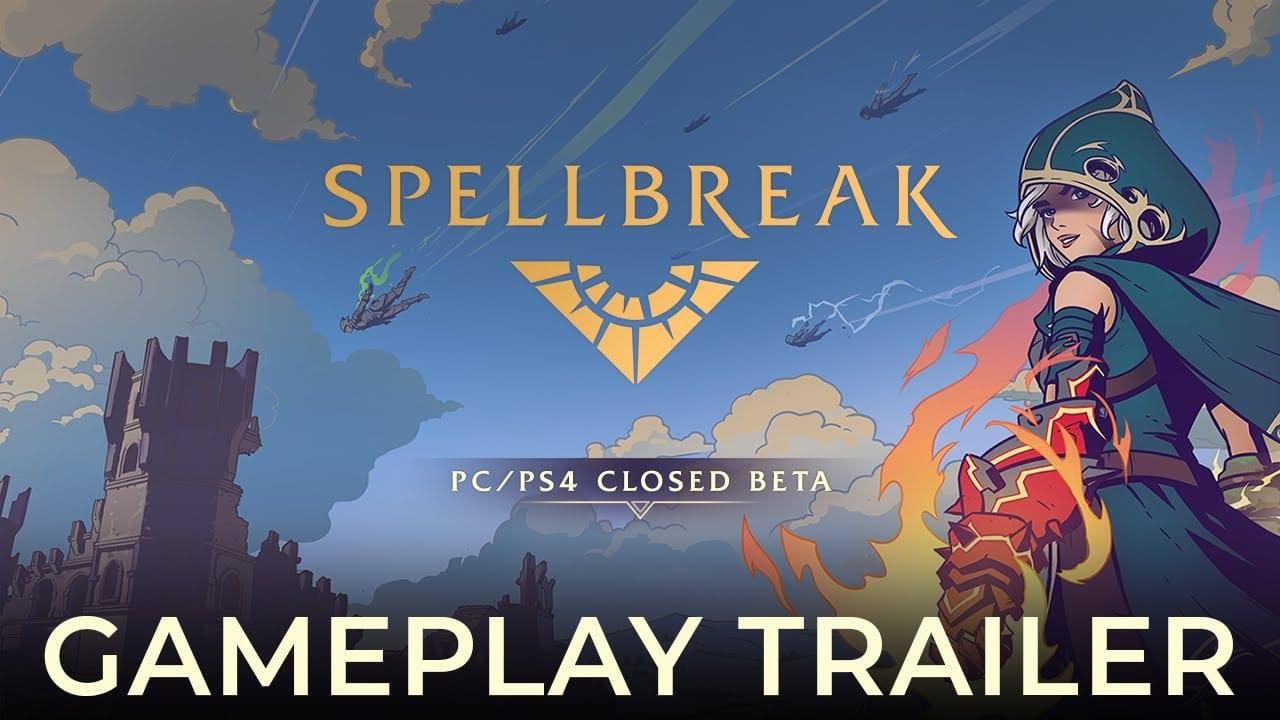 spellbreak, ps4, closed beta
