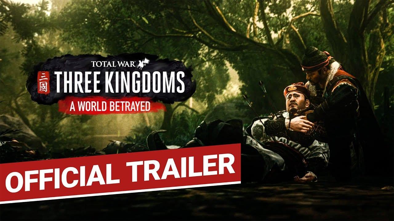 total war, three kingdoms, world betrayed