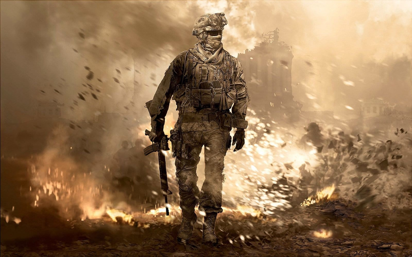 modern warfare 2, remastered, xbox one