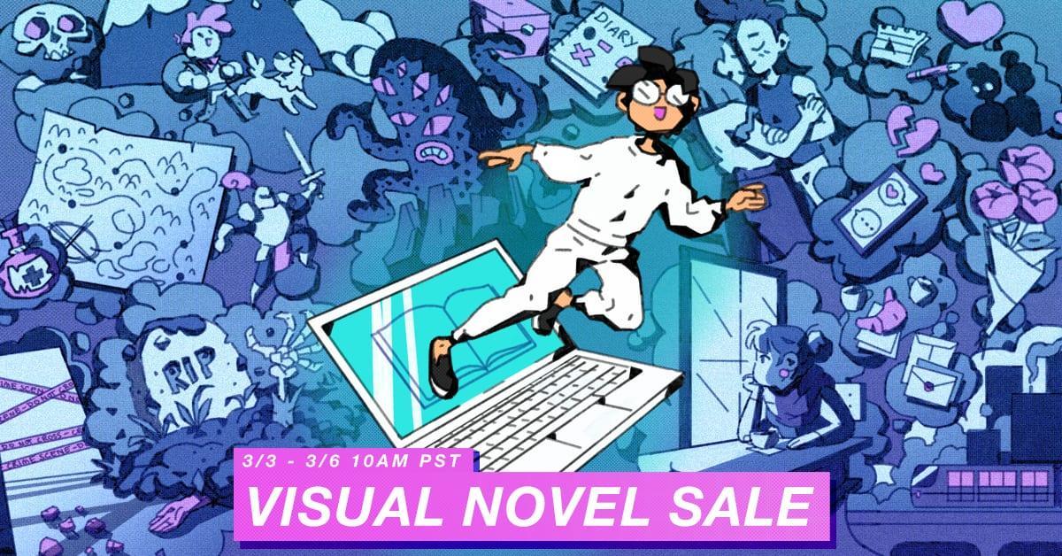 visual novel sale