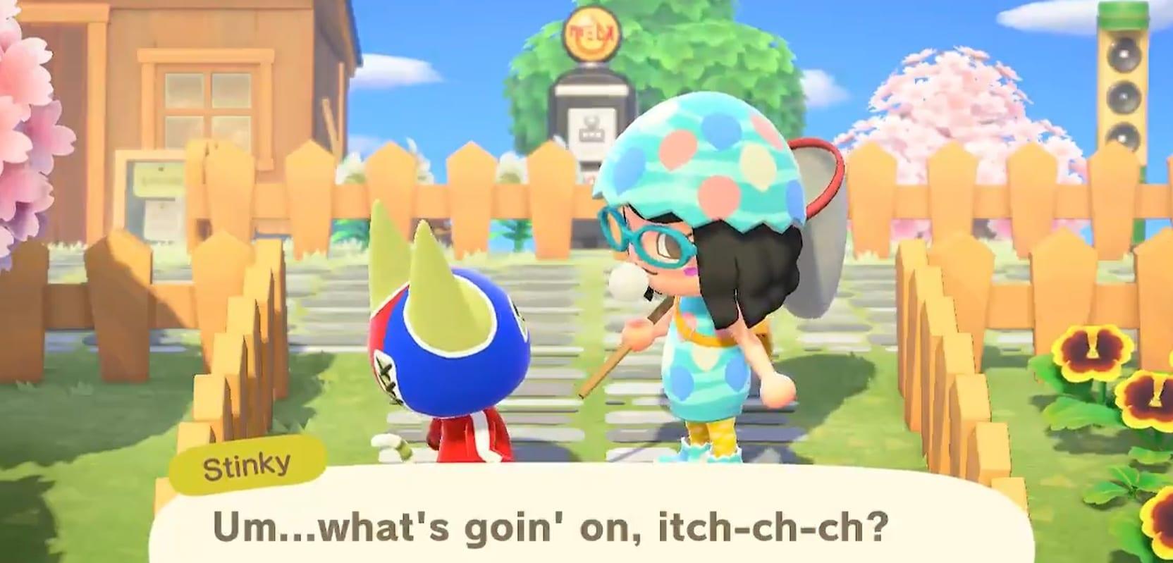 Animal Crossing New Horizons How To Catch Fleas