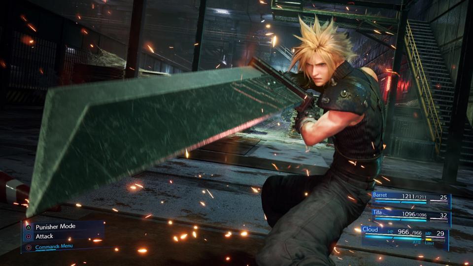 final fantasy 7 remake, graphics, inside