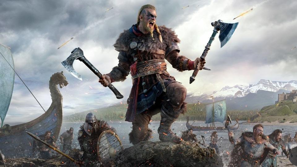 assassin's creed valhalla main character