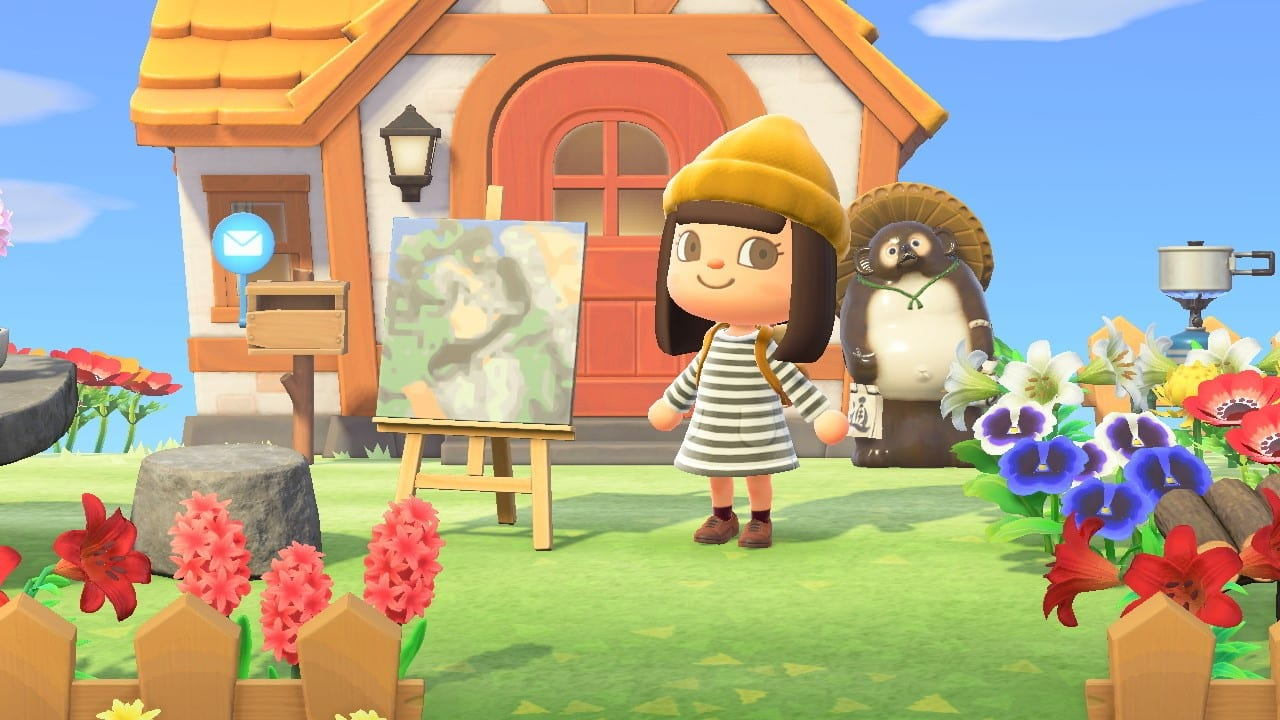 Animal Crossing New Horizons, Getty Museum, classical paintings, QR codes
