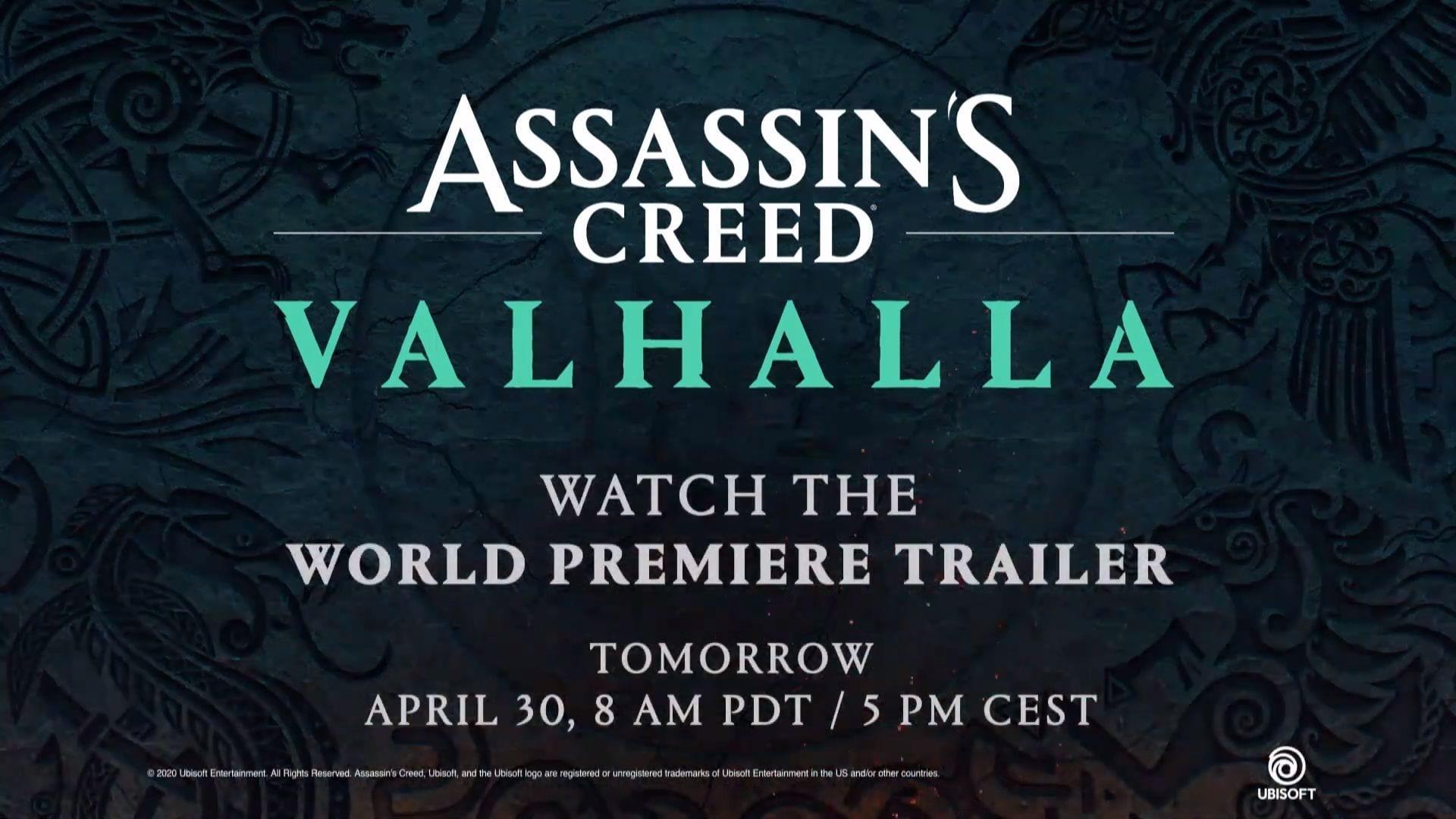 assassins creed valhalla logo wallpaper hd