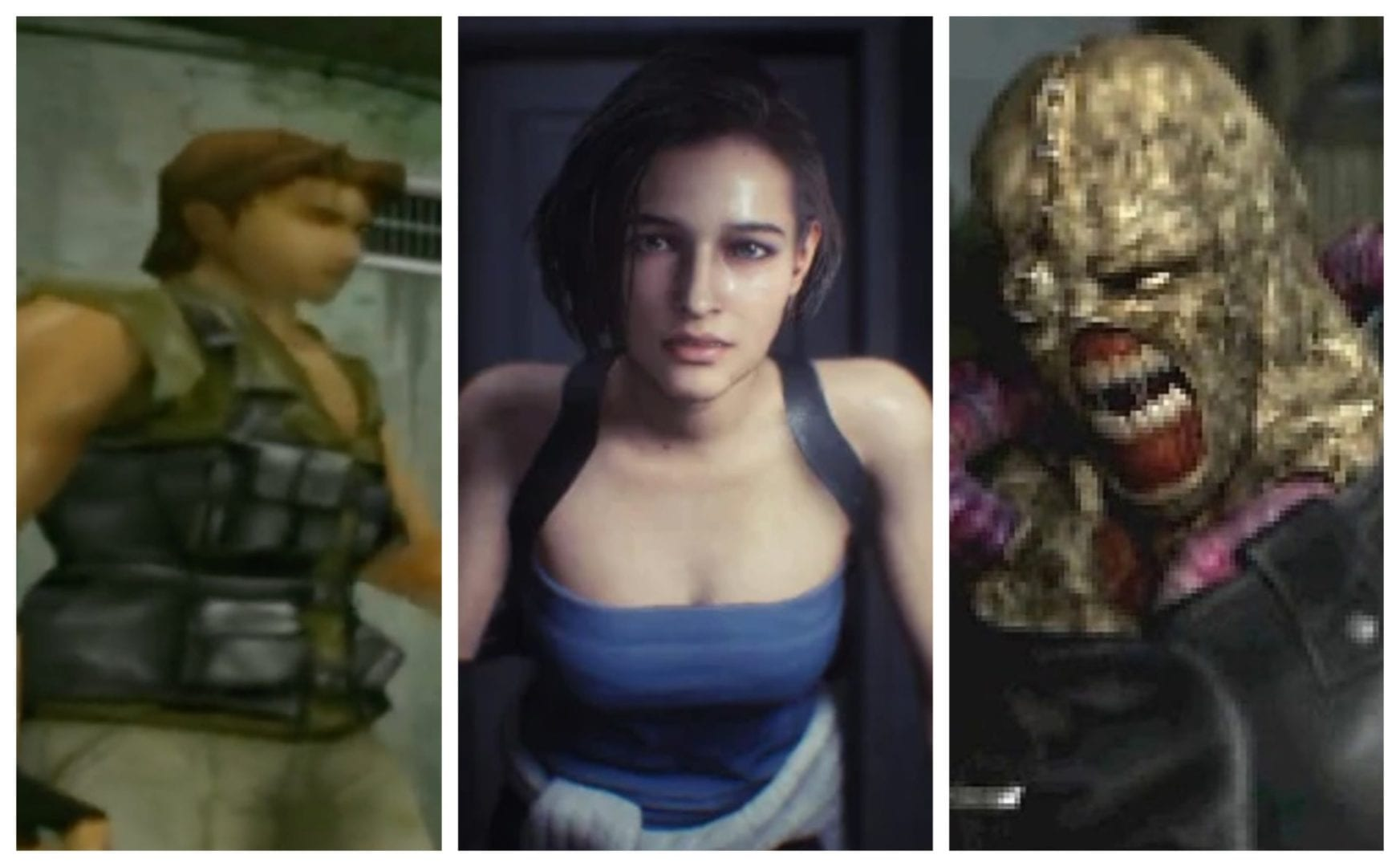 Resident Evil 3 Remake Screenshots Compared To The Original Shows