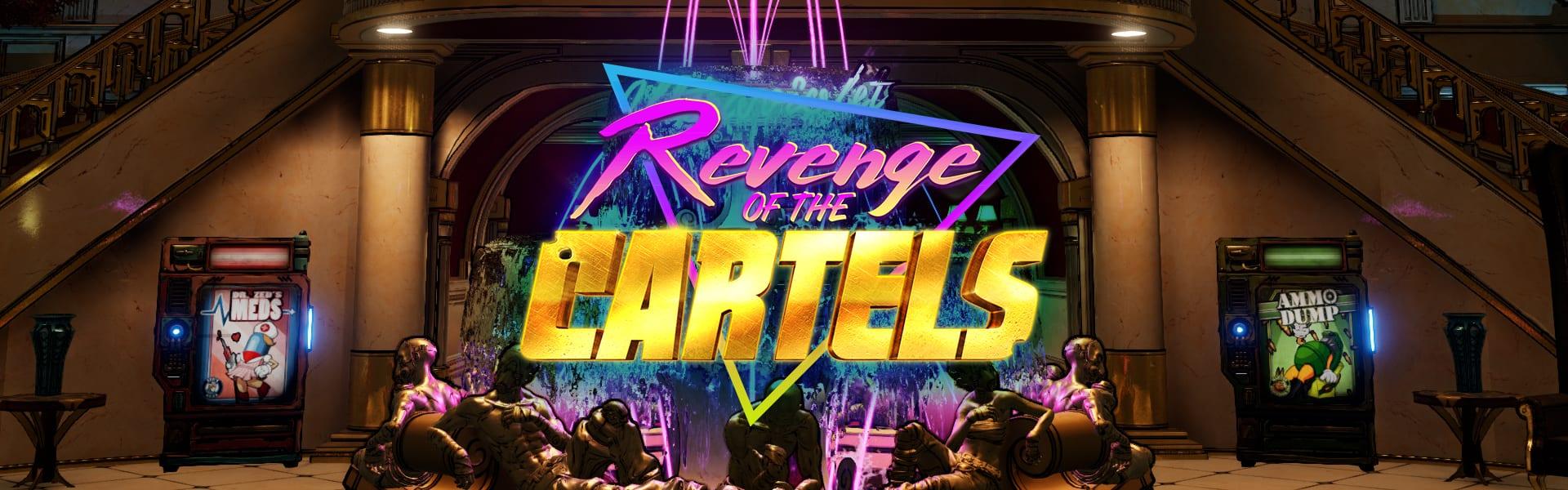 Revenge of the Cartels Yellowcake Legendary Rocket Launcher