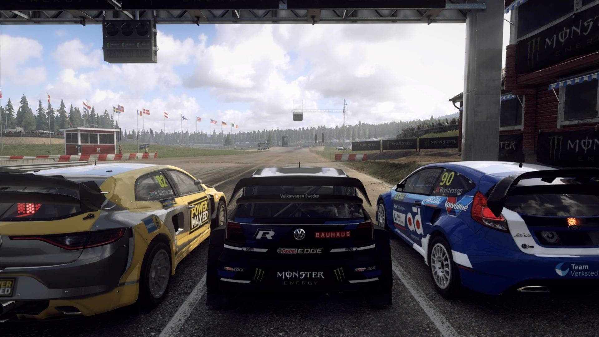 dirt rally 2.0, turn on headlights